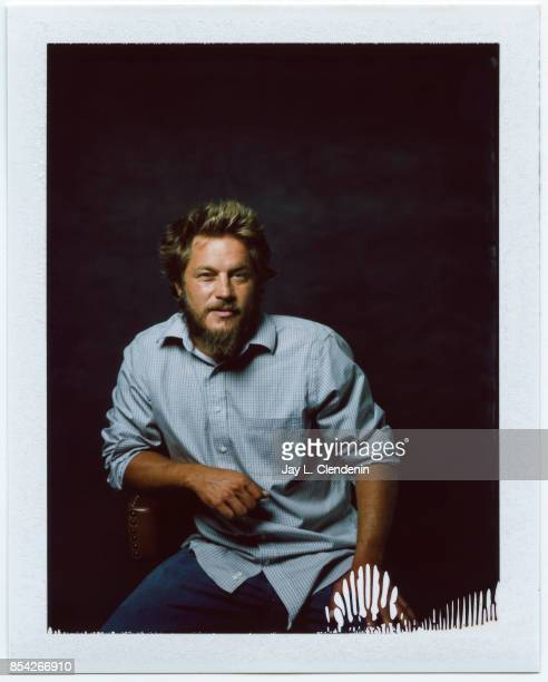 Travis Fimmel from the film 'Lean on Pete' is photographed on polaroid film at the LA Times HQ at the 42nd Toronto International Film Festival in...