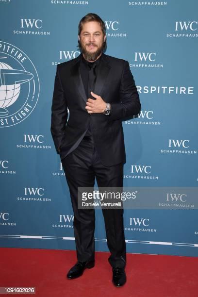 Travis Fimmel walks the red carpet for IWC Schaffhausen at SIHH 2019 on January 15 2019 in Geneva Switzerland