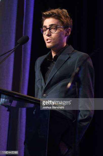 Travis Flores attends the 40th Annual Media Access Awards In Partnership With Easterseals at The Beverly Hilton Hotel on November 14 2019 in Beverly...