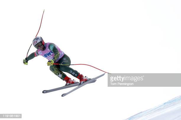 Travis Ganong of the United States skis during the Audi FIS Alpine Ski World Cup Men's Downhill Training on December 04, 2019 in Beaver Creek,...