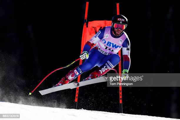 Travis Ganong of the United States skis during the Audi FIS Alpine Ski World Cup Men's Downhill Training on November 30 2017 in Beaver Creek Colorado