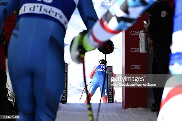 Travis Ganong of USA during the Audi FIS Alpine Ski World Cup Men's Downhill Training on November 30 2016 in Val d'Isere France