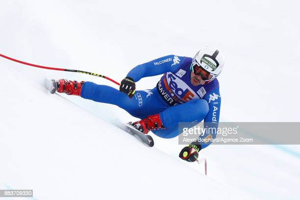 Travis Ganong of USA in action during the Audi FIS Alpine Ski World Cup Men's Super G on December 1 2017 in Beaver Creek Colorado