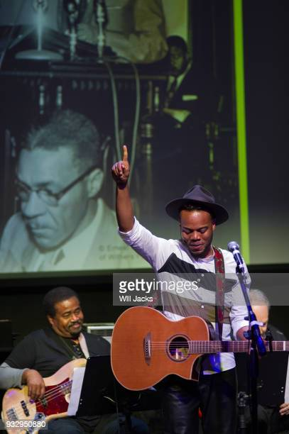 Travis Greene concludes his performance at GRAMMY Museum Mississippi on March 16 2018 in Cleveland Mississippi