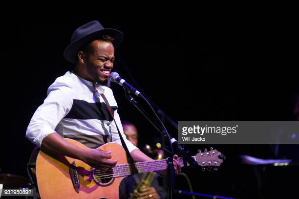 Travis Greene is moved by music at GRAMMY Museum Mississippi on March 16 2018 in Cleveland Mississippi