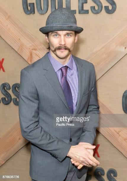 Travis Hammer attends Netflix Godless premiere at Metrograph