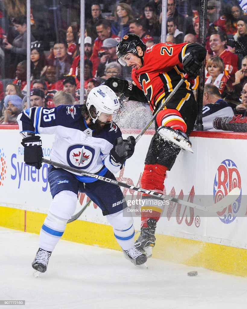 Winnipeg Jets v Calgary Flames
