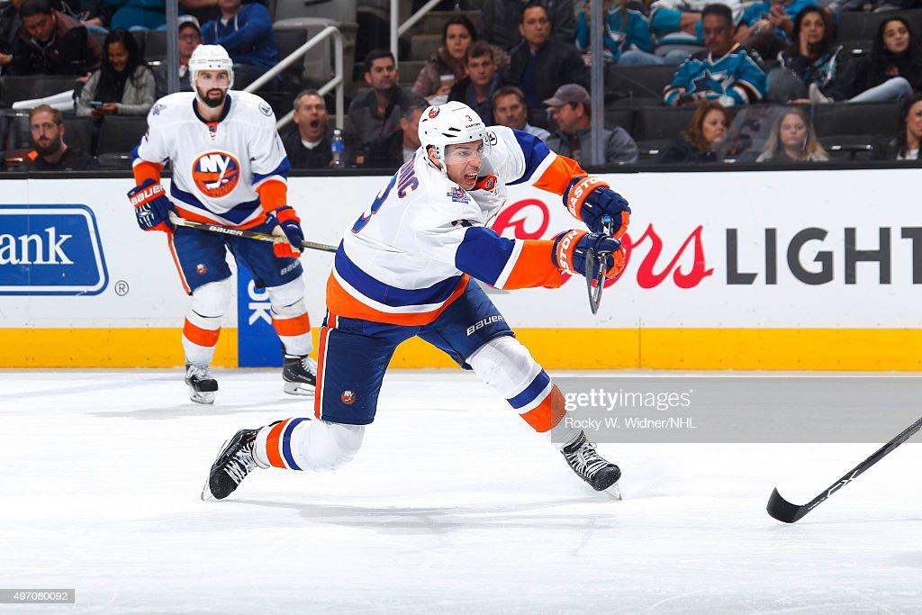 New York Islanders v San Jose Sharks : News Photo