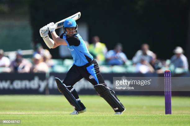 Travis Head of Worcestershire batting during the Royal London OneDay Cup match between Worcestershire and Derbyshire at New Road on May 19 2018 in...