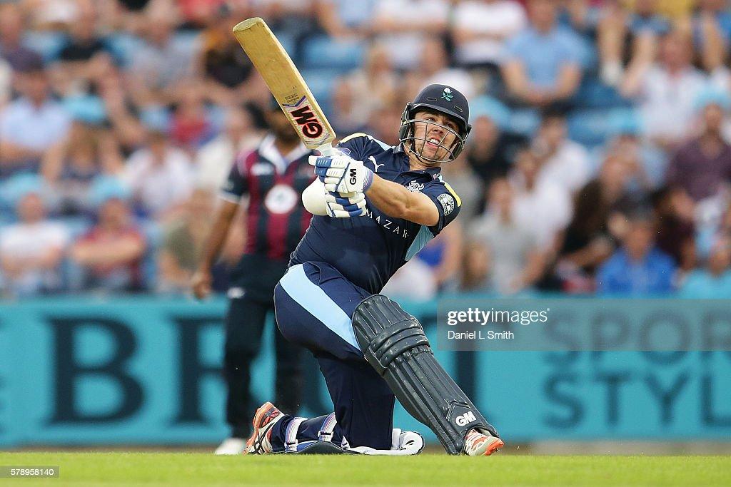 Yorkshire v Northamptonshire - NatWest T20 Blast 2016 : News Photo