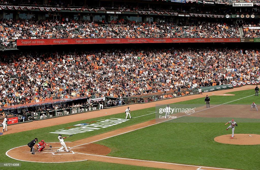 NLCS - St Louis Cardinals v San Francisco Giants - Game Three