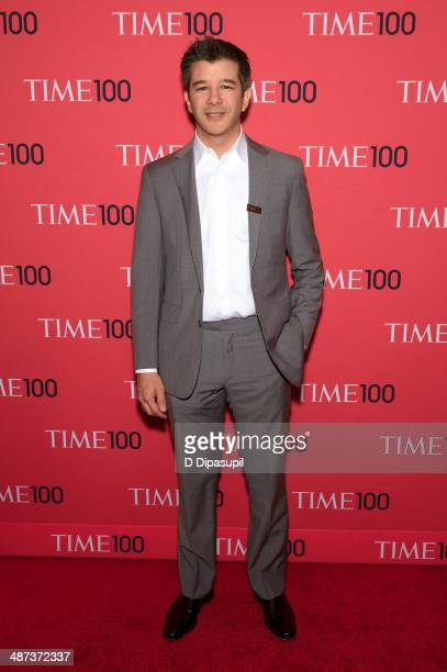 Travis Kalanick attends the 2014 Time 100 Gala at Frederick P Rose Hall Jazz at Lincoln Center on April 29 2014 in New York City