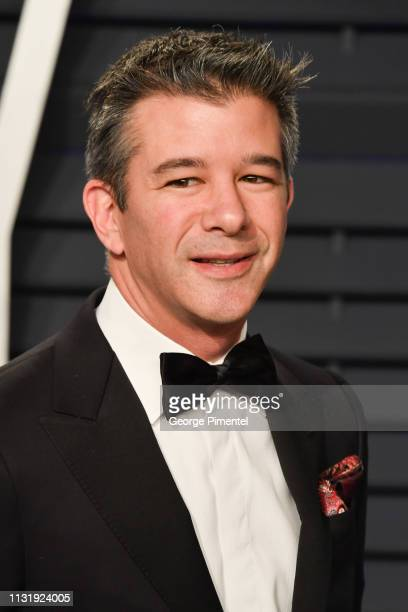 Travis Kalanick attends the 2019 Vanity Fair Oscar Party hosted by Radhika Jones at Wallis Annenberg Center for the Performing Arts on February 24...