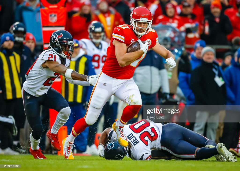 Divisional Round - Houston Texans v Kansas City Chiefs : News Photo