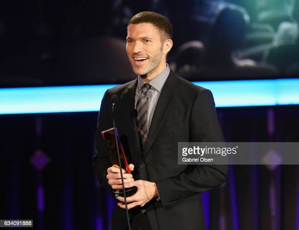 Travis Knight accepts the Best Movie for Grownups Who Refuse to Grow Up award for 'Kubo and the Two Strings' at the 16th Annual AARP The Magazine's...