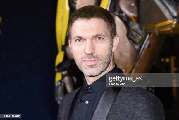 Travis Knight attends Premiere Of Paramount Pictures' Bumblebee at TCL Chinese Theatre on December 09 2018 in Hollywood California