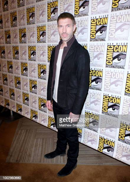 Travis Knight attends the red carpet for 'Bumblebee' at ComicCon International 2018 on July 20 2018 in San Diego California