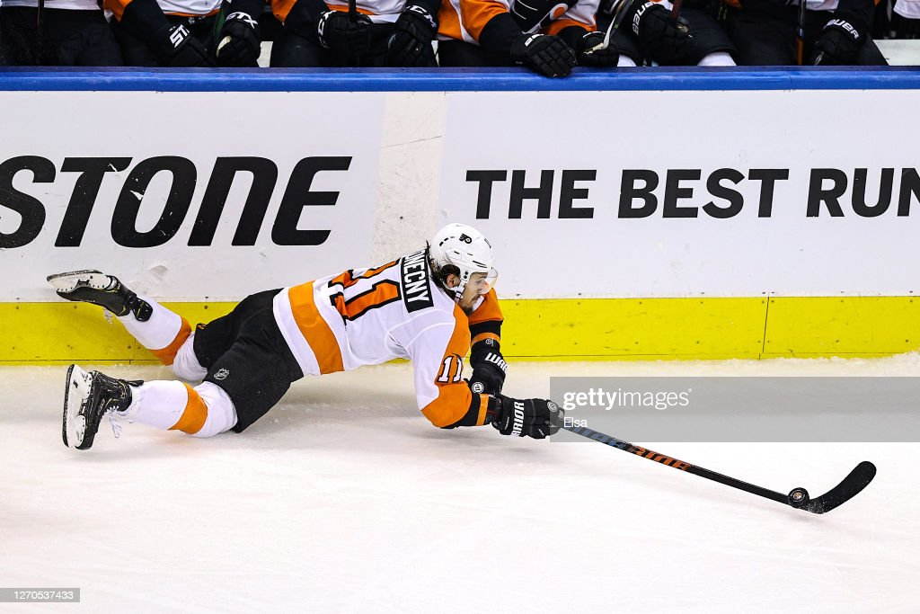 Philadelphia Flyers v New York Islanders - Game Six : News Photo