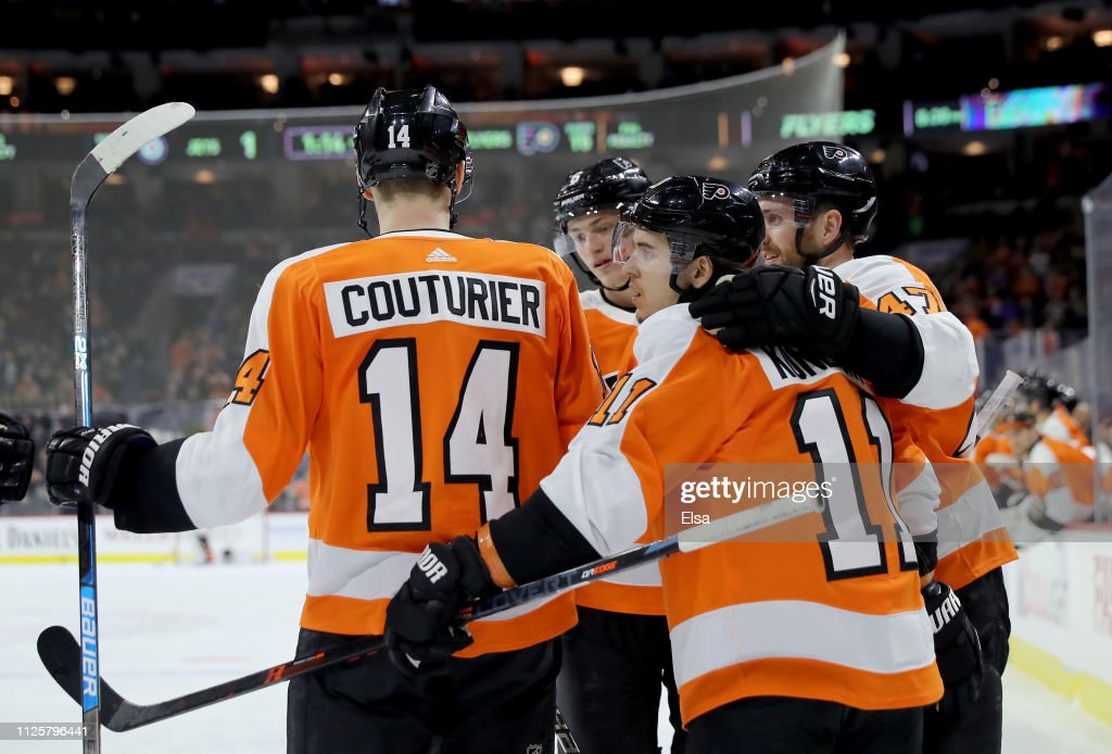 Winnipeg Jets v Philadelphia Flyers : News Photo
