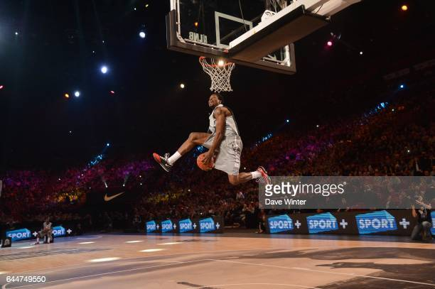 Travis LESLIE Concours de dunk All Star Game 2013 Bercy Photo Dave Winter / Icon Sport