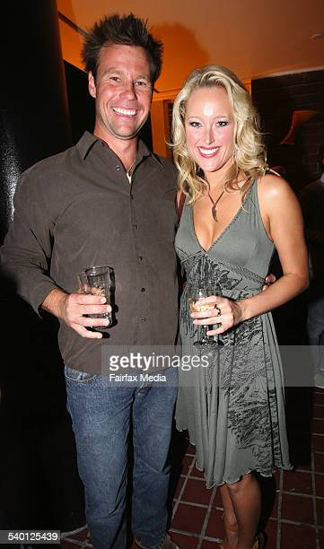 Travis Lithgo and Ali Mutch at the Piccadilly Hotel relaunch Potts Point 6 September 2006 SHD Picture by JANIE BARRETT