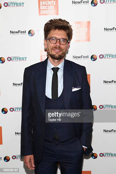 Travis Mathews attends the NewFest 2013 Screening Of Interior Leather Bar at The Film Society of Lincoln Center Walter Reade Theatre on September 7...