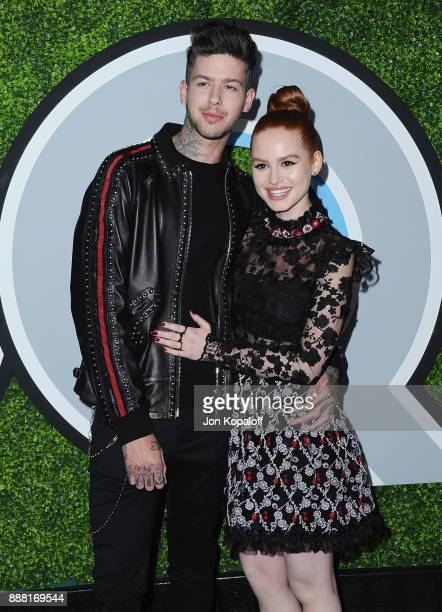 Travis Mills and Madelaine Petsch attends the 2017 GQ Men Of The Year Party at Chateau Marmont on December 7 2017 in Los Angeles California