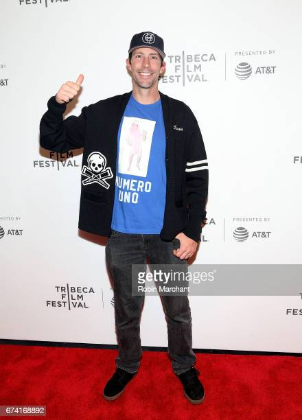 Travis Pastrana attends 'Dumb The Story of Big Brother Magazine' Premiere during 2017 Tribeca Film Festival on April 27 2017 in New York City