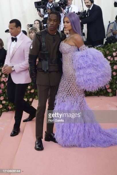 Travis Scott and Kylie Jenner attend Met Gala Celebrating Camp: Notes On Fashion - Arrivals at the Metropolitan Museum of Art in New York City on May...