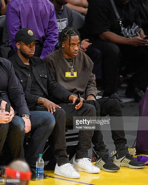 Rockets Vs Warriors Uk Time: Travis Scott Pictures And Photos