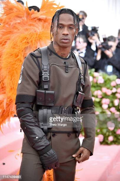Travis Scott attends The 2019 Met Gala Celebrating Camp Notes on Fashion at Metropolitan Museum of Art on May 06 2019 in New York City