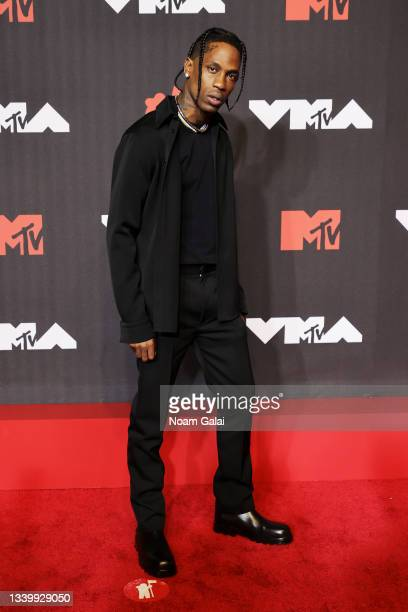 Travis Scott attends the 2021 MTV Video Music Awards at Barclays Center on September 12, 2021 in the Brooklyn borough of New York City.