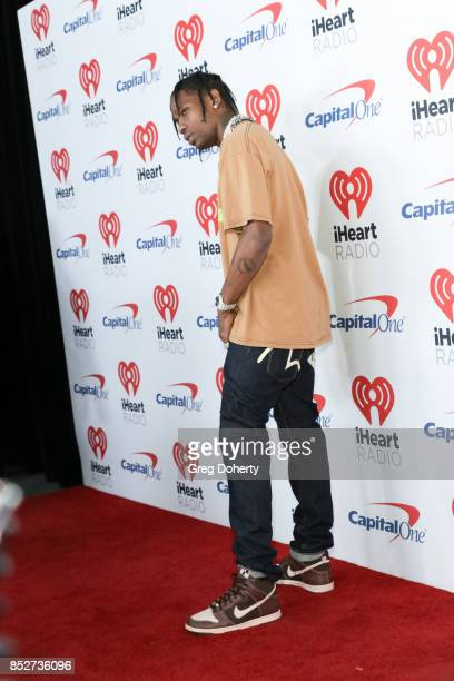 Travis Scott attends the 2nd Night of the 2017 iHeartRadio Music Festival at TMobile Arena on September 23 2017 in Las Vegas Nevada