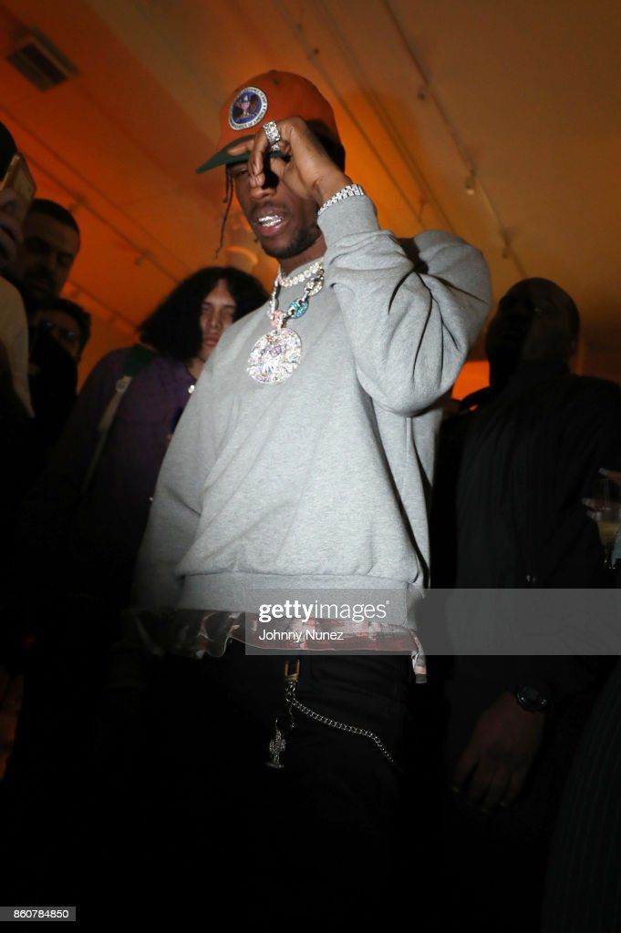 Travis Scott attends the Ksubi and Travis Scott Collaboration Launch on October 12, 2017 in New York City.