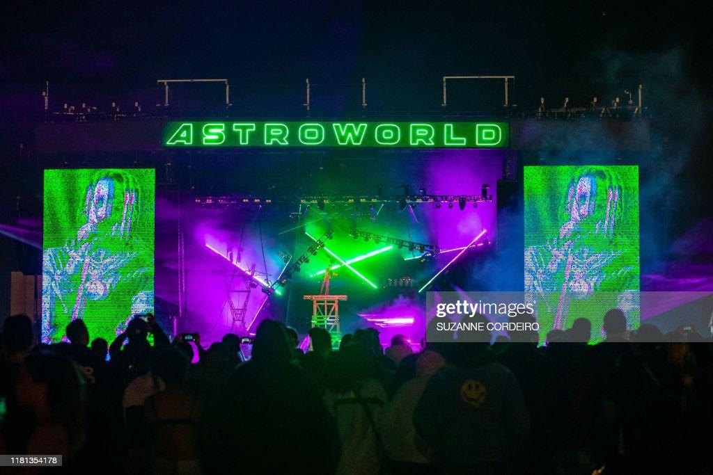 US-MUSIC-FESTIVAL-ASTROWORLD : News Photo