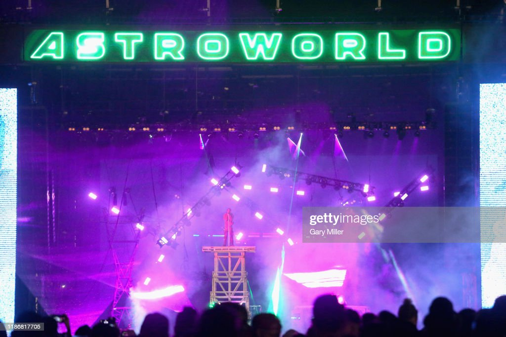 Travis Scott's Astroworld Festival : News Photo