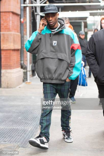 Travis Scott seen downtown on November 28 2018 in New York City