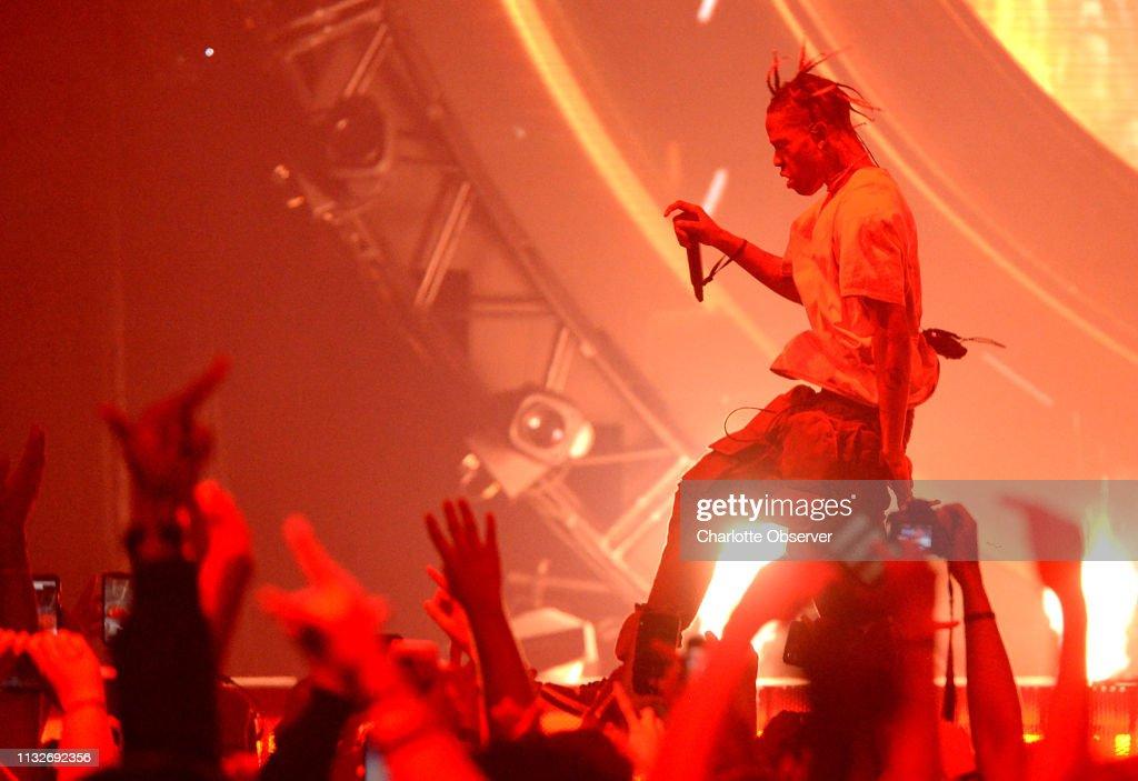 Travis Scott in concert : News Photo