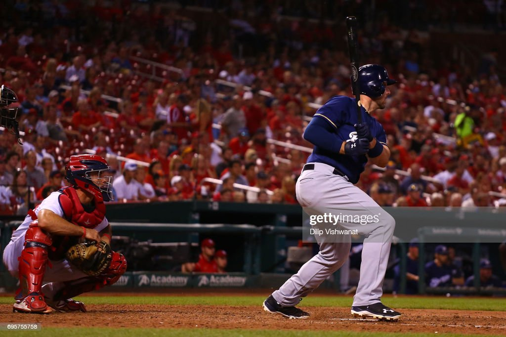 Milwaukee Brewers v St Louis Cardinals - Game Two : News Photo