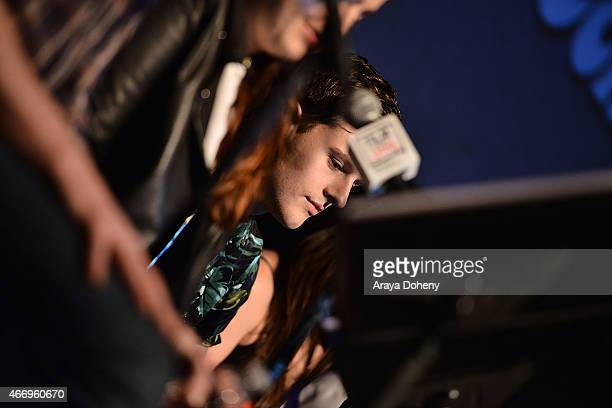"""Travis Tope attends the Film Independent at LACMA presents Live Read of """"Dazed And Confused"""" at Bing Theatre At LACMA on March 19, 2015 in Los..."""