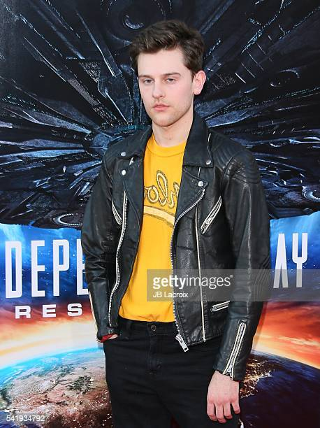 Travis Tope attends the premiere of 20th Century Fox's 'Independence Day: Resurgence' at TCL Chinese Theatre on June 20, 2016 in Hollywood,...