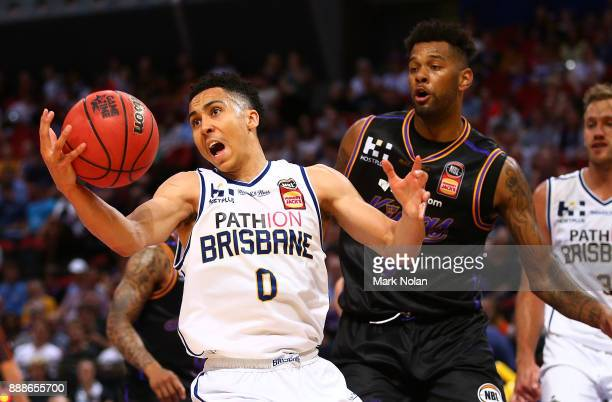 Travis Trice of the Bullets in action during the round nine NBL match between the Sydney Kings and the Brisbane Bullets at Qudos Bank Arena on...