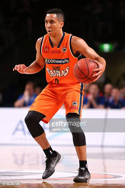 Travis Trice of the Taipans in action during the round three NBL match between the Adelaide 36ers and the Cairns Taipans at the Adelaide...