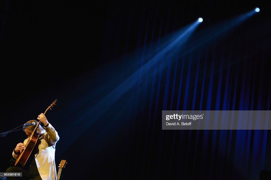 Travis Tritt performs at The Sandler Center for the Performing Arts on January 12, 2018 in Virginia Beach, Virginia.
