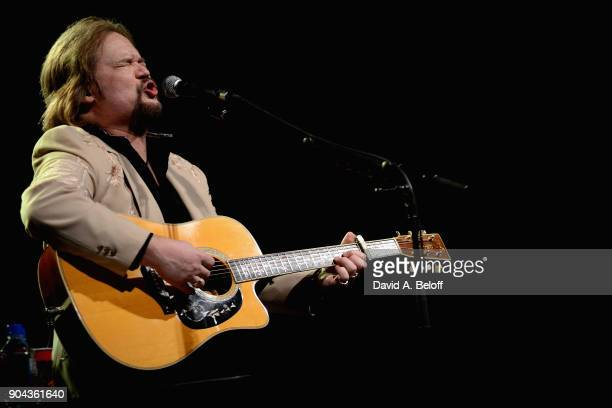 Travis Tritt performs at The Sandler Center for the Performing Arts on January 12 2018 in Virginia Beach Virginia