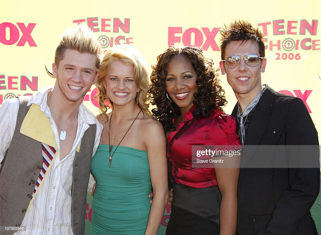 Travis Wall, Heidi Groskreutz, Donyelle Jones and Benji Schwimmer of 'So You Think You Can Dance'