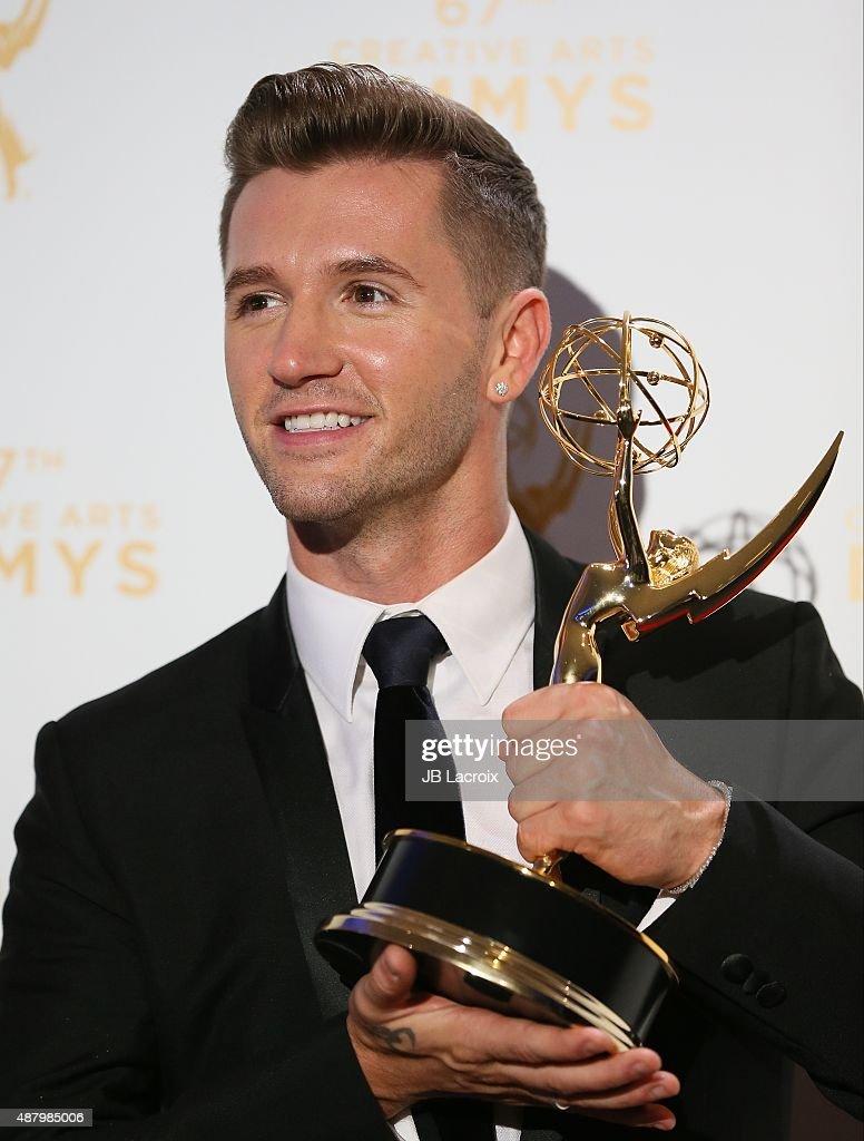 2015 Creative Arts Emmy Awards - Press Room : News Photo