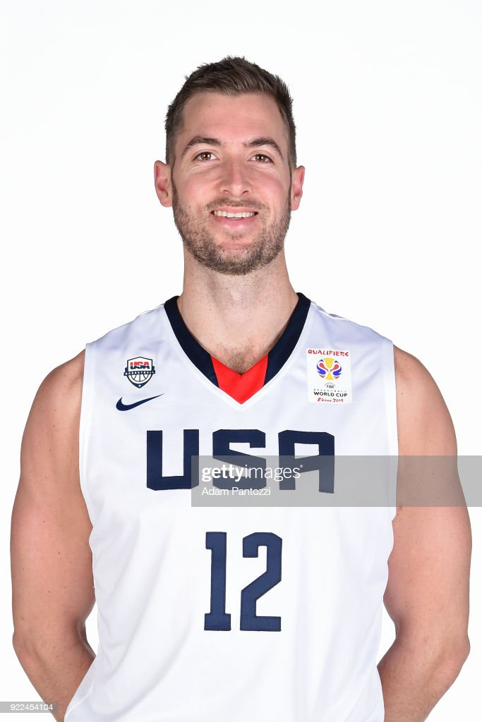 Travis Wear #12 of Team USA poses for a head shot on February 20, 2018 at the LA Clippers Training Center in Playa Vista, California.