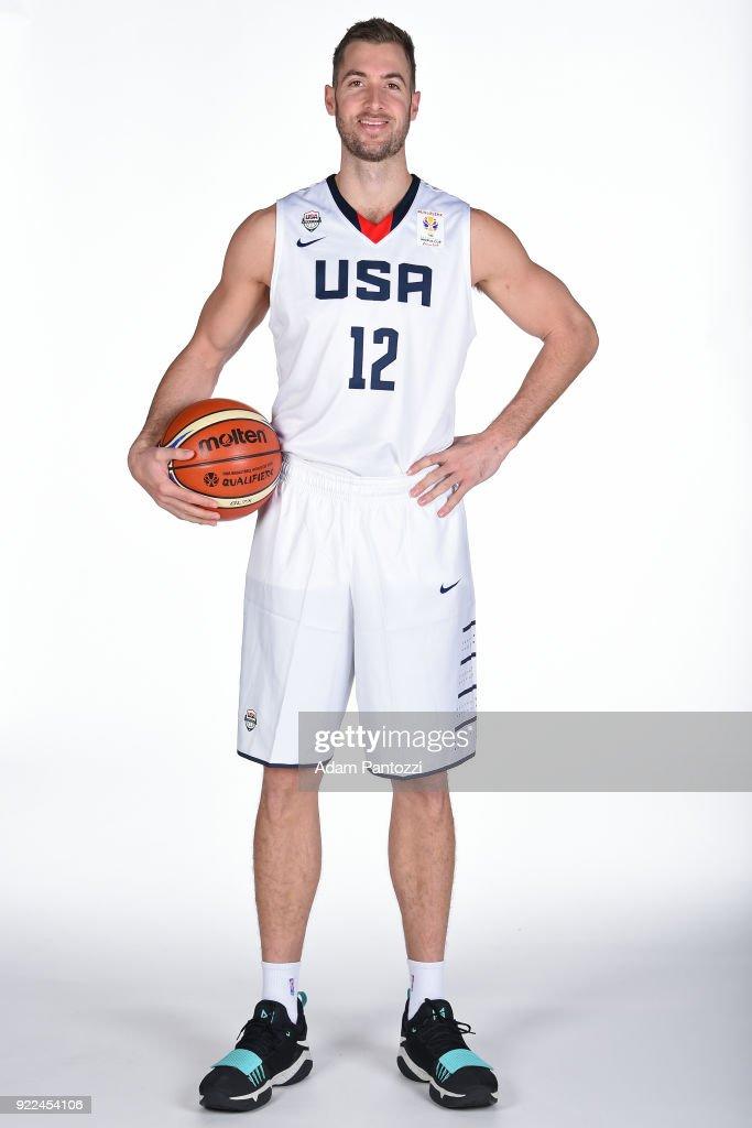 USAB World Cup Qualifying Team Portraits : Nachrichtenfoto