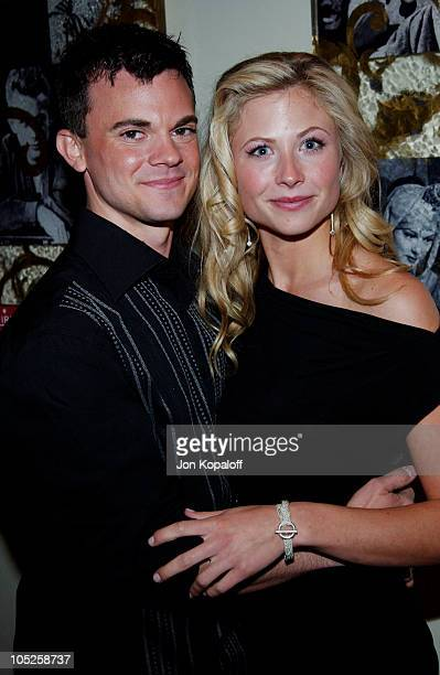 Travis Wester and Molly Schade during Eurotrip Los Angeles Premiere Red Carpet Arrivals at Grauman's Chinese Theatre in Hollywood California United...